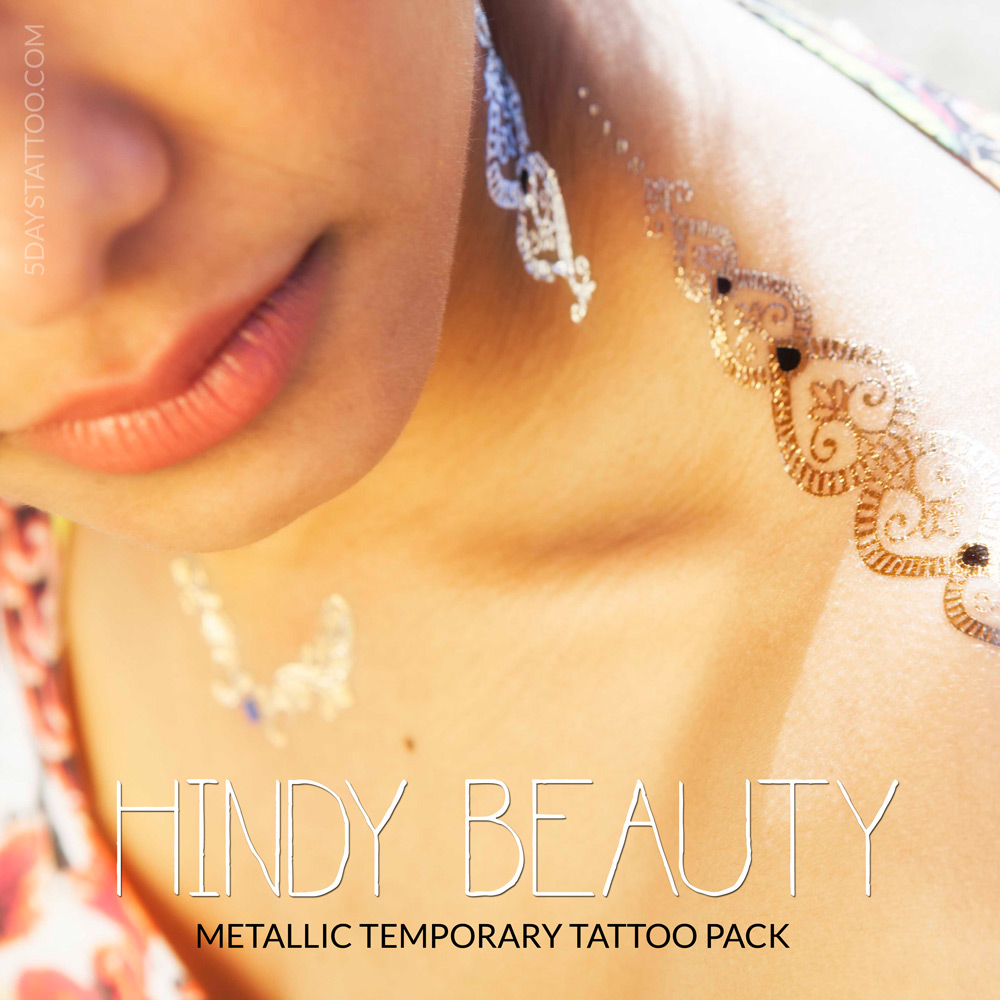 Flash Tattoo - Hindy beauty